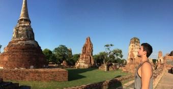Ayutthaya panorama