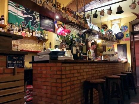 Taverna Gallo Nero - Rapallo, Italia - Delicieuse Vie