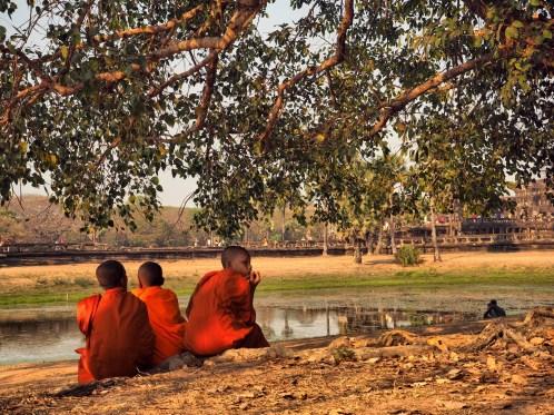 child Angkor Wat - Cambodia
