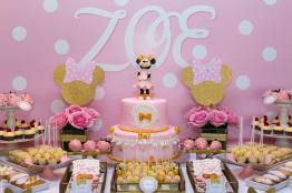 botez tematic, botez alb roz, botez minnie mouse, minnie mouse party