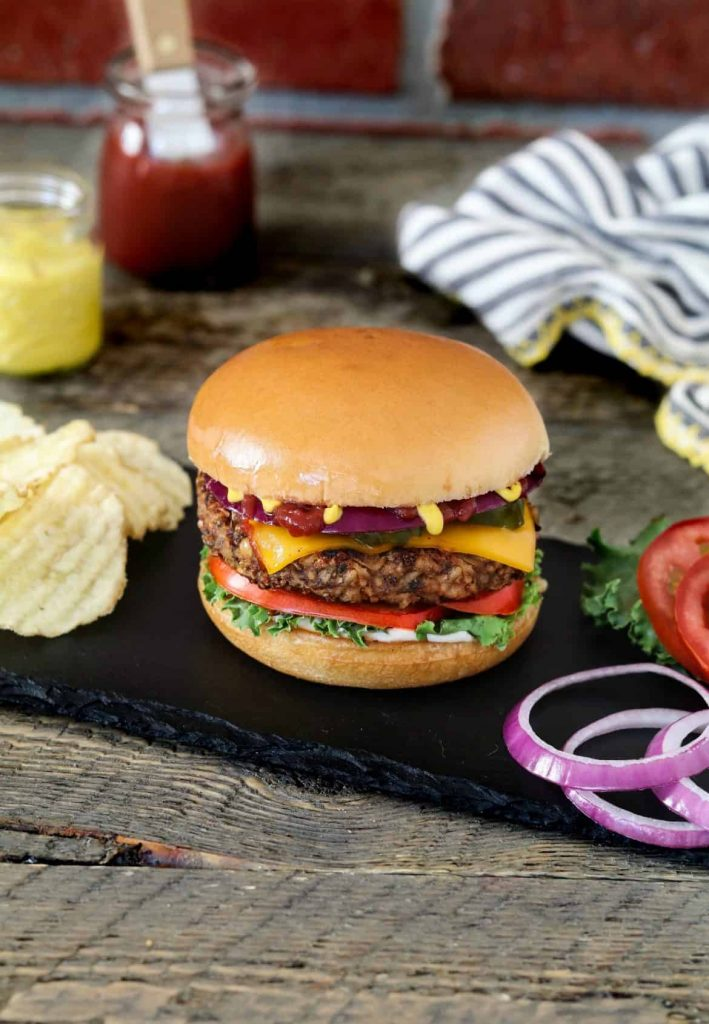 Bean Mushroom Burger - 21 Veggie Burger Recipes