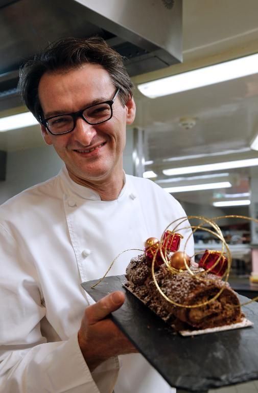 Laurent Jeannin, chef pâtissier étoilé du Bristol (1/2)