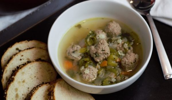 Soup with a side of french bread is the perfect winter dinner.