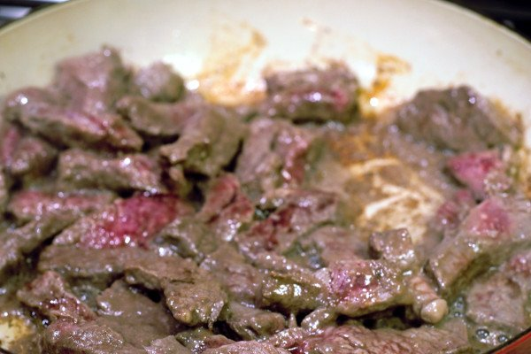 Well browned steak is more appealing to look at, and seals in flavor and juices for a moist tender bite.