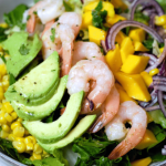 Shrimp Corn Mango Salad Pin