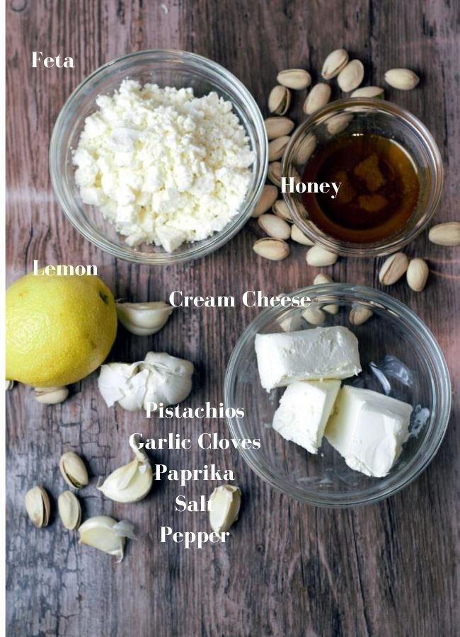 Raw Ingredients labeled
