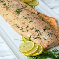 Baked salmon featured image