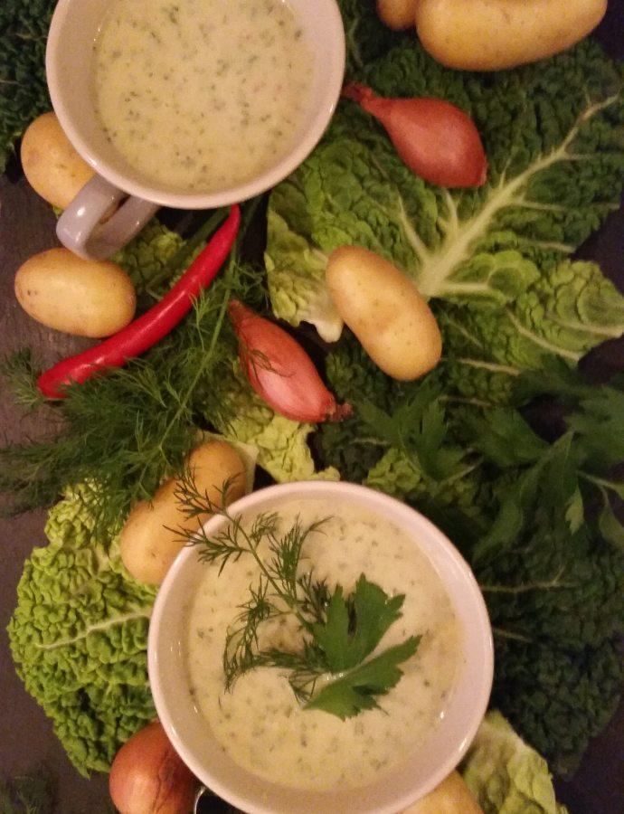 Liebster Award der Dritte und eine Wirsing- Kräuter- Suppe zum genießen…