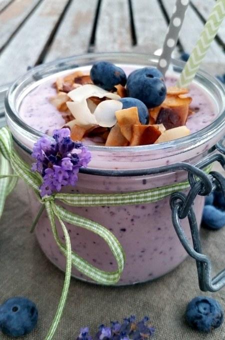 Hot Summer….Frozen- Blueberry- Yoghurt