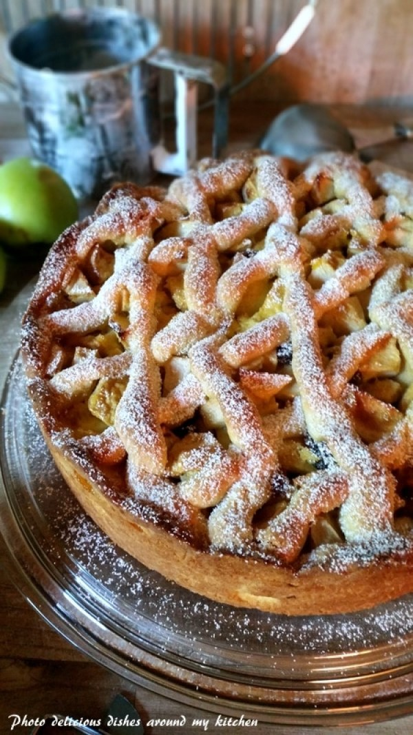 Immer wieder gut...Apfel- Gitterkuchen