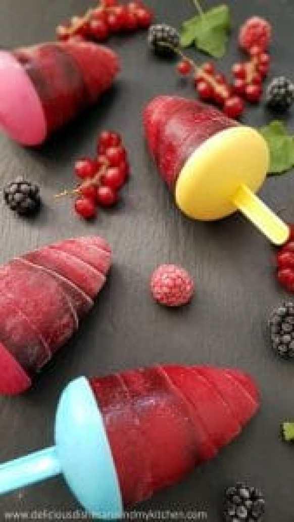 Beeren- Popsicles