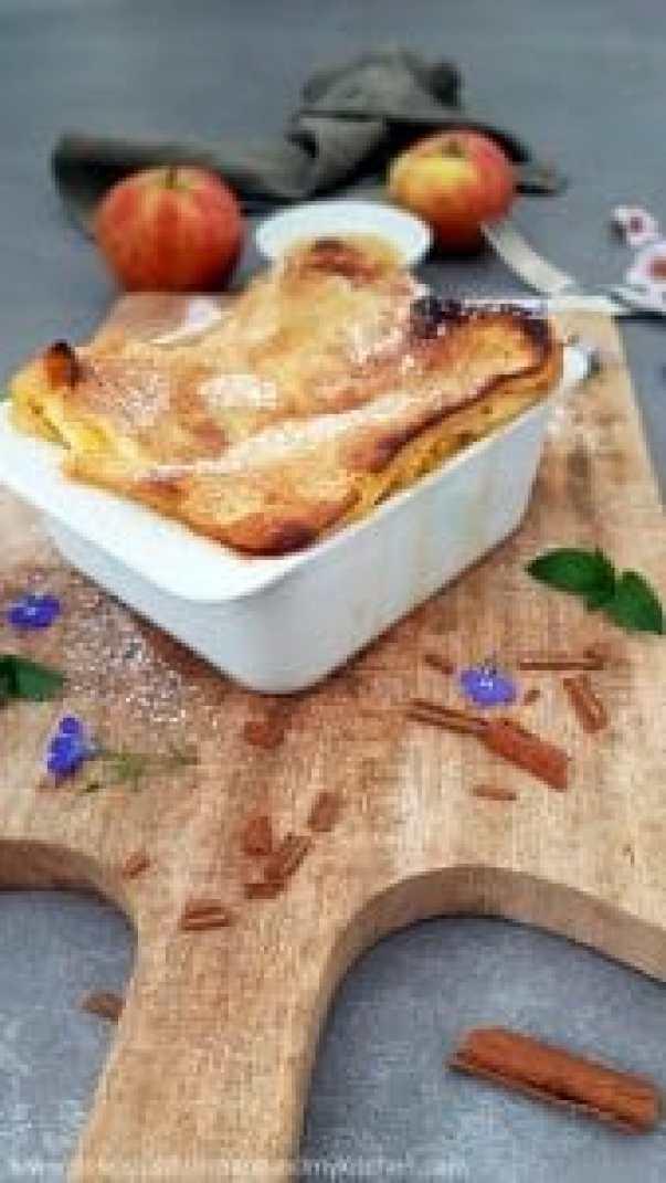 Apfel- Lasagne