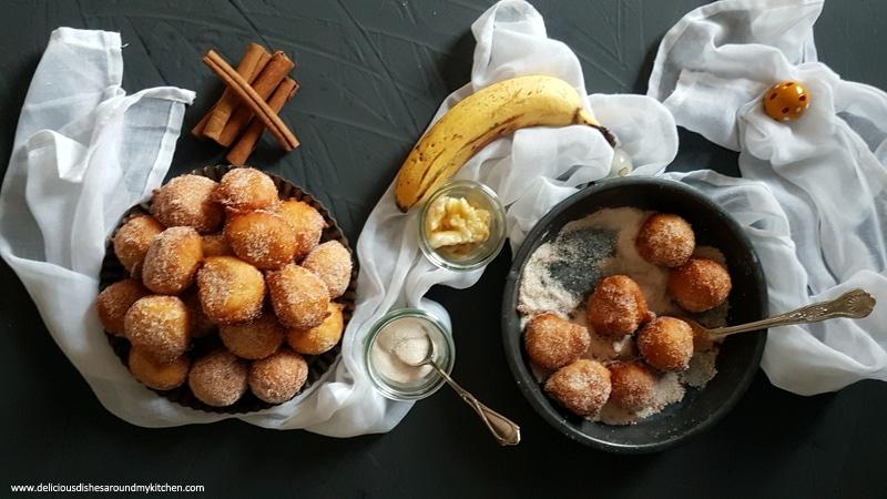 Zu Fasching Leckere Fluffige Quarkballchen Mit Banane Delicious