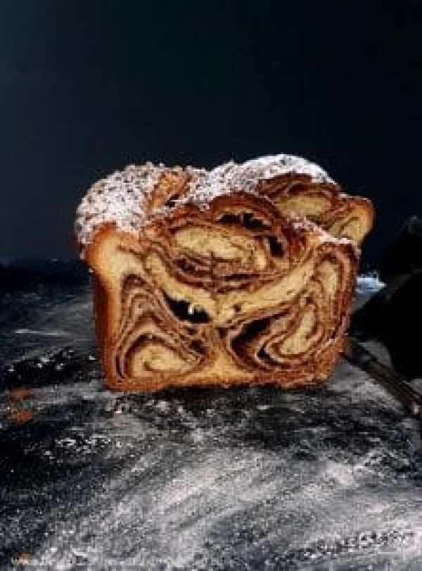 La Vraie Brioche du Boulanger mit Cashewkernen- Füllung