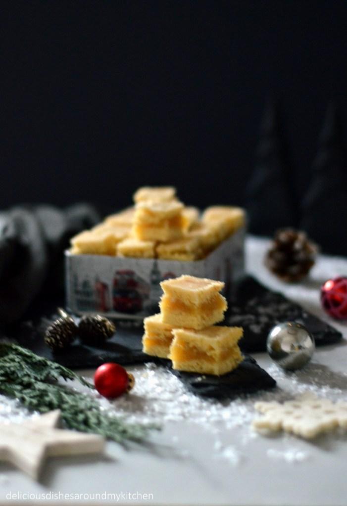 Weihnachtliche Vorfreude im Quadrat- Limettenwürfel mit Marzipan – Delicious dishes around my kitchen