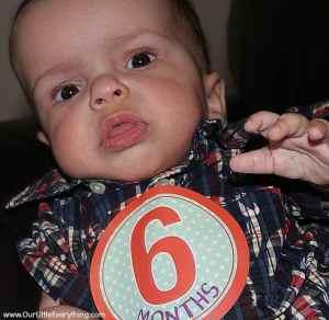 Benjamin's 6 Month Check-Up (Achondroplasia)