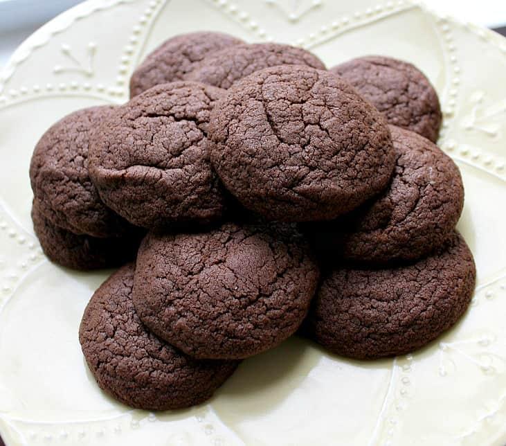 Basic chocolate cookies recipe