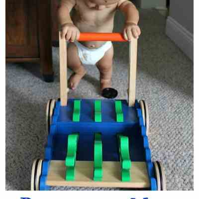 Baby On The Move with Huggies!