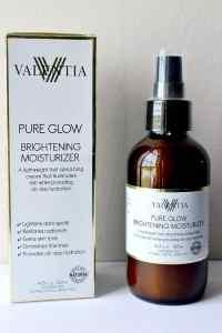 Review:  Valentia Pure Glow Brightening Moisturizer