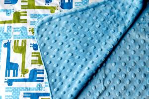 Blue Baby Bum Toddler Blanket Review