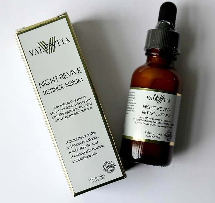 Valencia Night Revive Retinol Serum