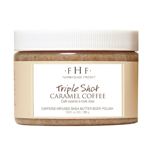 Farmhouse Fresh Triple Shot Caramel Coffee Body Polish