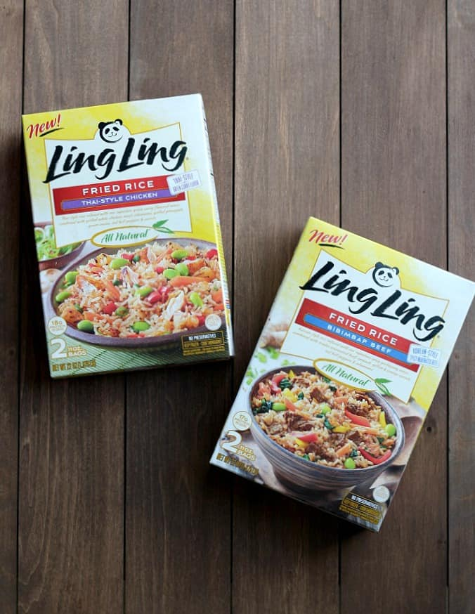 Ling Ling Fried Rice Meals Packaging