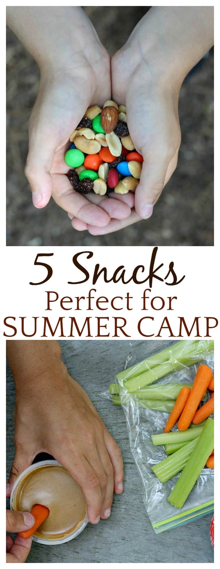 Summer camps keep kids extremely busy! Help keep heir energy levels up by packing hearty snacks that contain protein. This list contains 5 perfect summer camp snacks that your kids are sure to love!