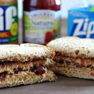 Back to School – Big Kid PBJ Sandwich