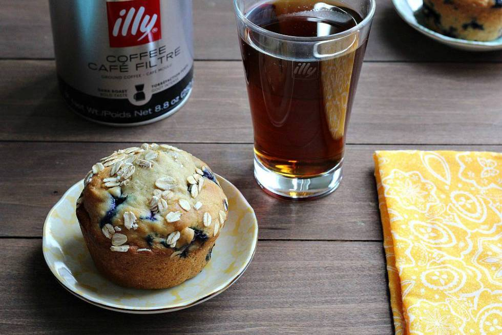Morning Muffin and Cup of Coffee