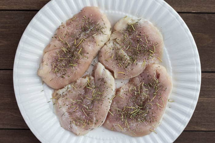 Seasoned Turkey Cutlets
