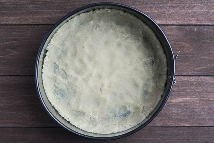 Almond Crust in a Spring Form Pan