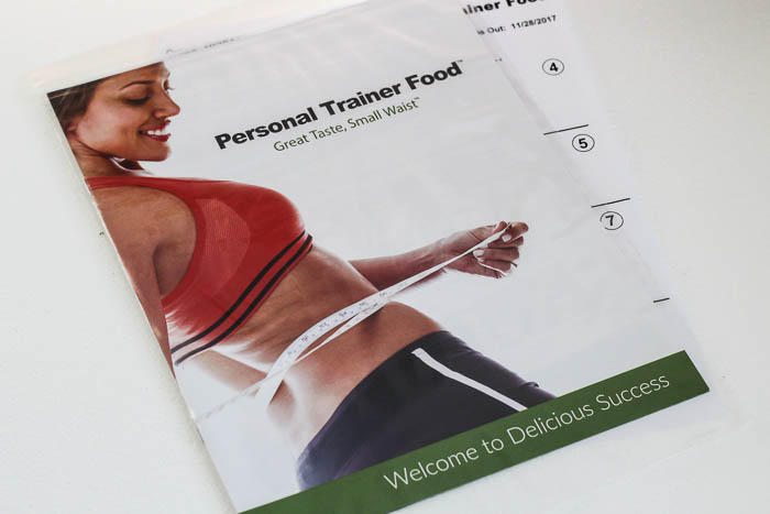 Personal Trainer Food Booklet