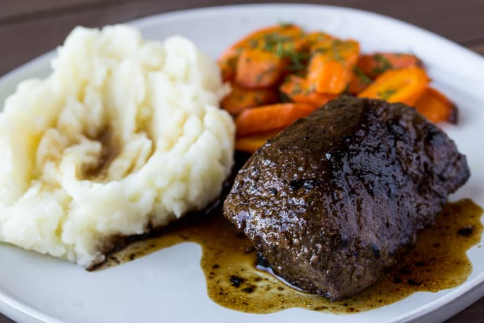 Home Chef Coffee Rubbed Steak Recipe Card