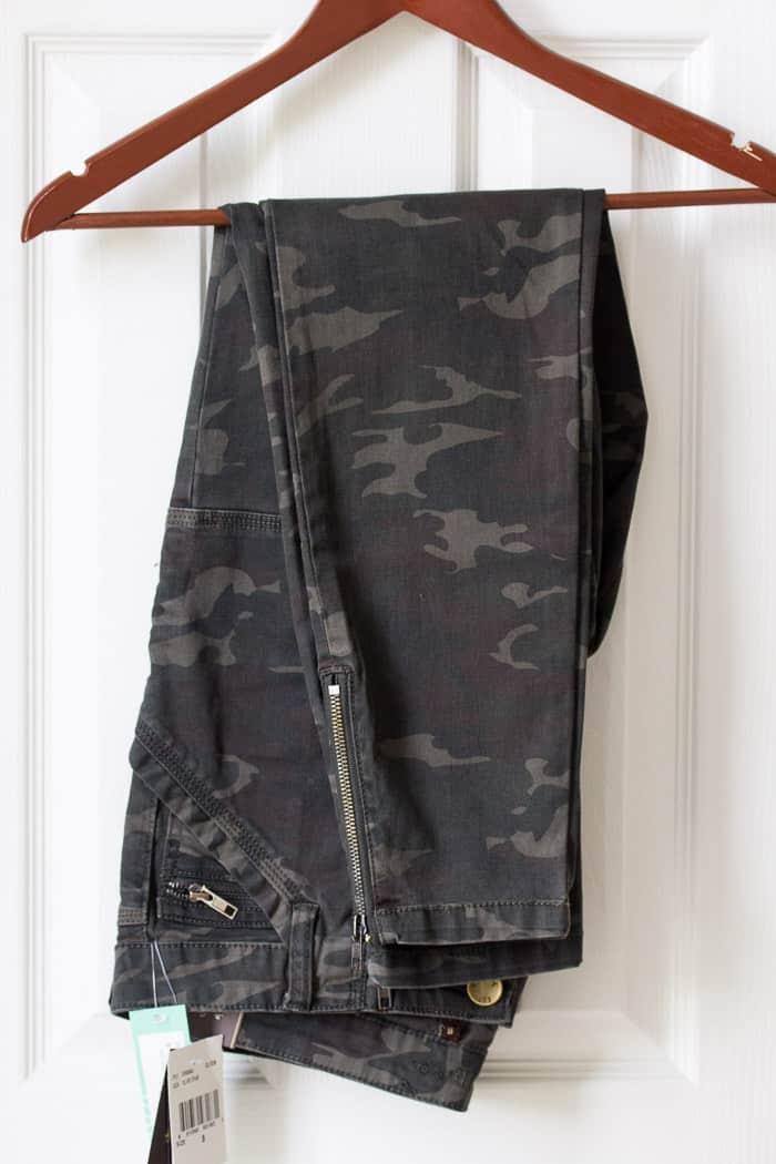 Stitch Fix Kut From the Kloth Theresa Zipper Detail Printed Cargo Skinny Pant #ad #stitchfix2018 #stitchfix #stitchfixreview #style #fashion