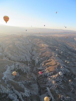 Up we go in Cappadocia 12