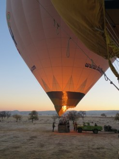 Up we go in Cappadocia 4