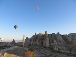 Up we go in Cappadocia 7