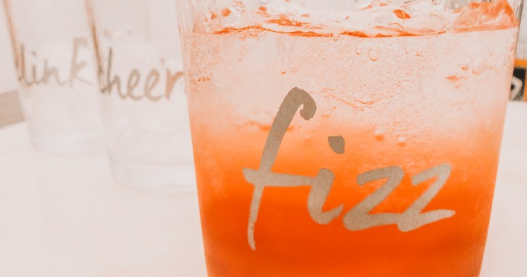 All the Vibes Spritzer with Lavender & Kombucha  (Non-Alcoholic)