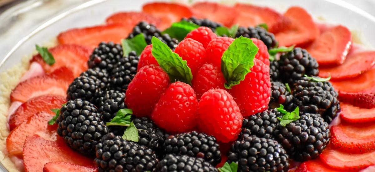 Low Carb Summer Fruit Tart