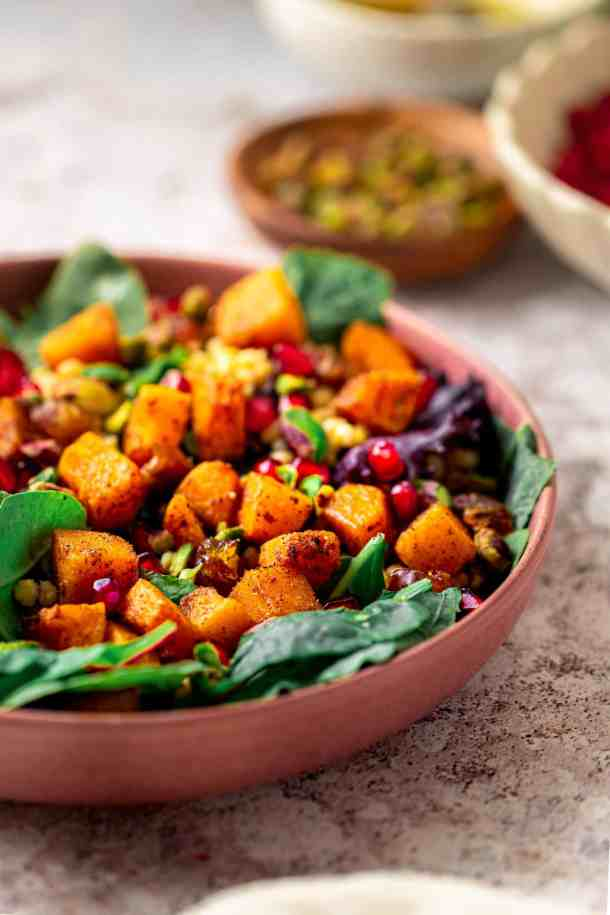 Styled picture Butternut Squash Salad