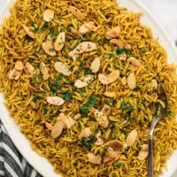 Mediterranean Yellow Rice