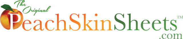 Peach Skin Sheets logo image