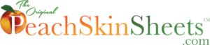 peach skin sheets logo