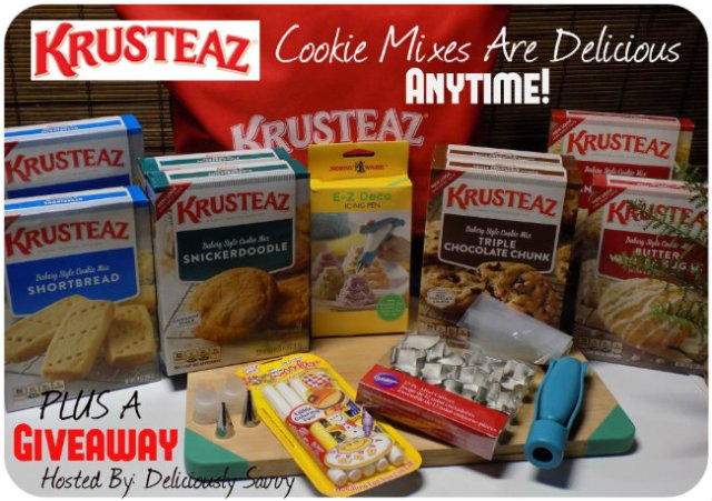 The Krusteaz Cookie Mixes Are Delicious Anytime! PLUS a Giveaway! Ends 1/14 #Krusteaz