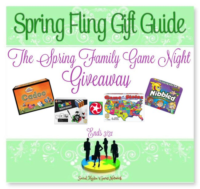 The Spring Fling Family Game Night Giveaway