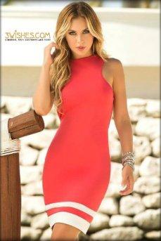 3wishes-peach-dress