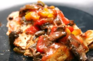 Chicken Cacciatore ~ served with your choice of 2 sides
