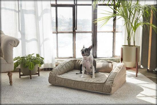 Runyon Pet Bed In Sandstone