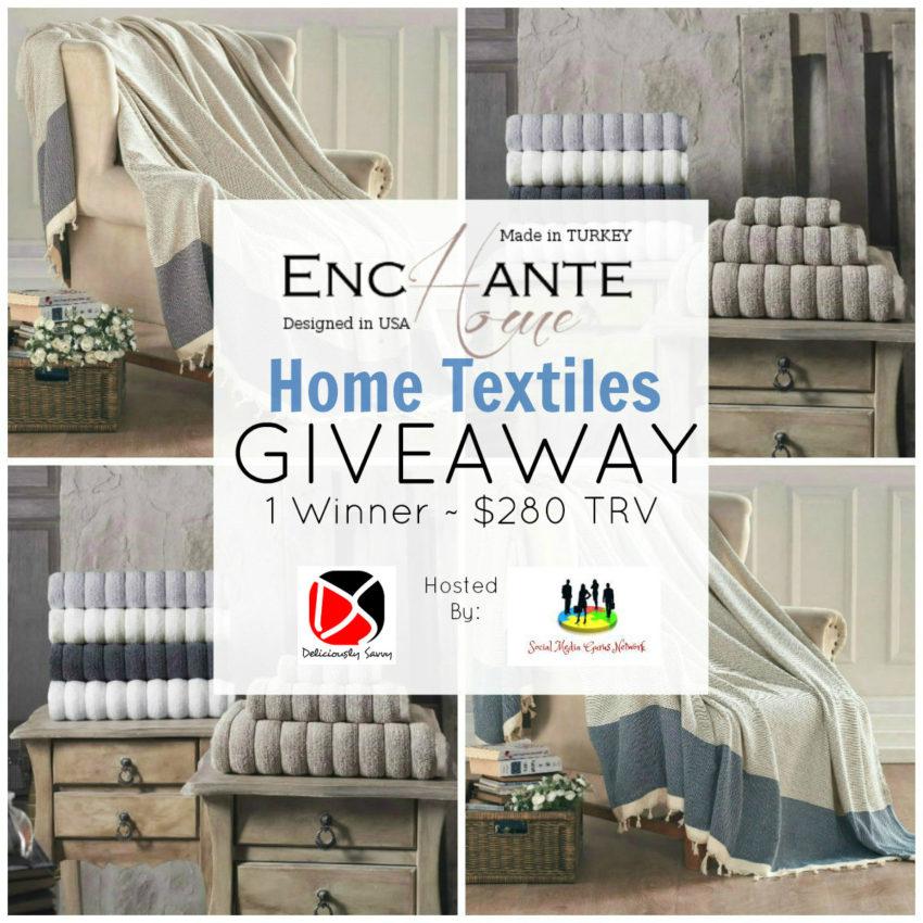Enchante Home Textiles Giveaway